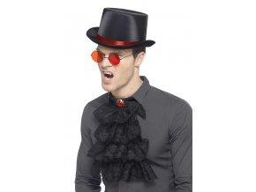 Sada Drákula klobouk, brýle, límec kostým upír