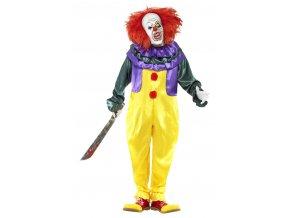 Kostým s maskou Hororový klaun