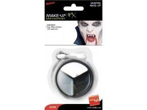 Make up pro upíry upíří makeup Halloween líčení