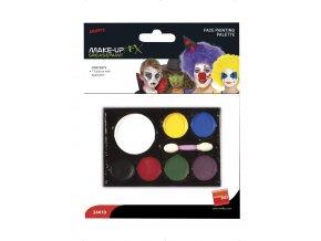 Barvy na obličej pro děti