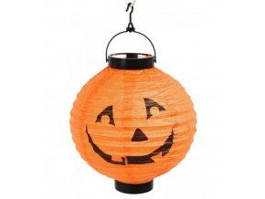 Svítící lampion dýně levně halloween