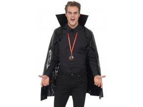 Černý plášť pro upíra 115cm
