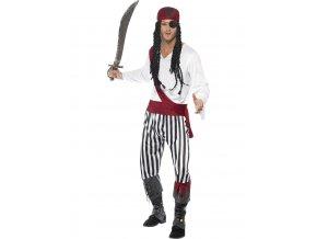 Kostým pirát dospělý