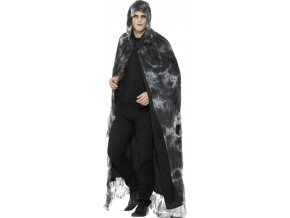 carodejnicky plast s kapuci dlouhy