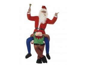 Kostým jezdec na skřítkovi piggyback