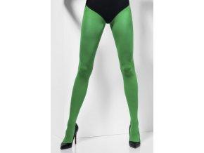 Dámské punčocháče zelené