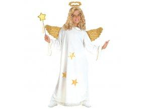 dívčí kostým anděla