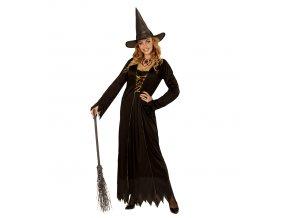 Kostým čarodějnice dospělý levně