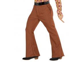 Pánské retro kalhoty hnědé