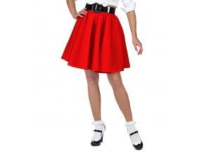 červená sukně rock'n'roll