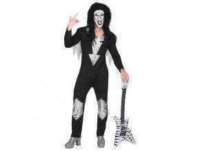 kostým heavy metal