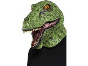 maska dinosaura karneval