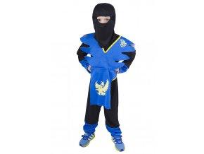 detsky kostym ninja modry