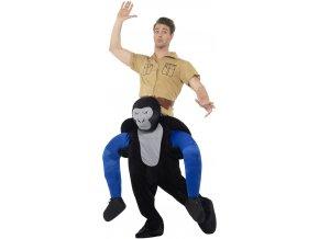 vtipny kostym nosič gorila