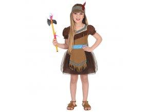 kvalitní kostým indiánky 02039