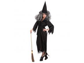 kostým čarodějnice černý