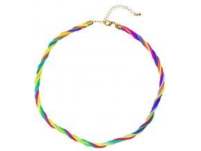náhrdelník neonový
