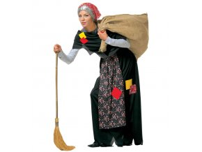 kostým stará čarodějnice