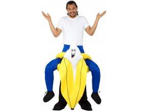 jezdec na banánu