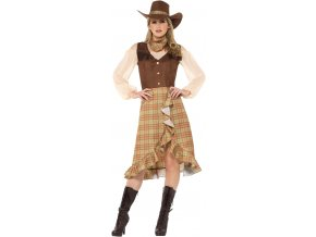 dámský kostým kovbojka
