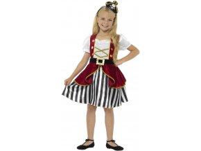 dětský kostým pirátka