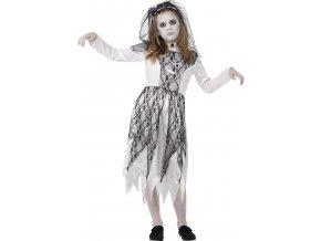 dětský kostým mrtvá nevěsta