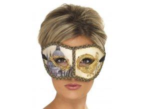 Benátská maska Noc v Benátkách