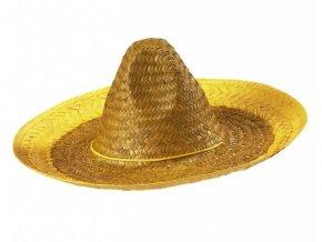 mexicke sombrero zlute