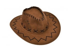 detsky westernovy klobouk kovboj