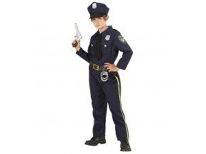 dětský kostým pro policistu