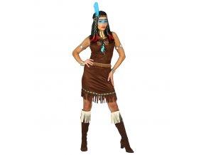 Indiánské šaty dospělý