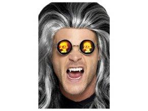 Holografické brýle lebka