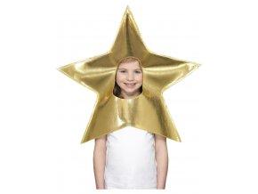 Čepice vánoční hvězda