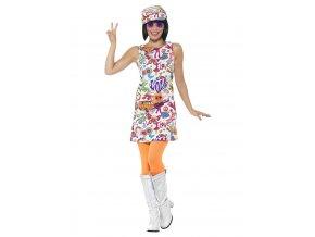 Hippie kostým Peace and love