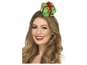 Vánoční čelenka dárek