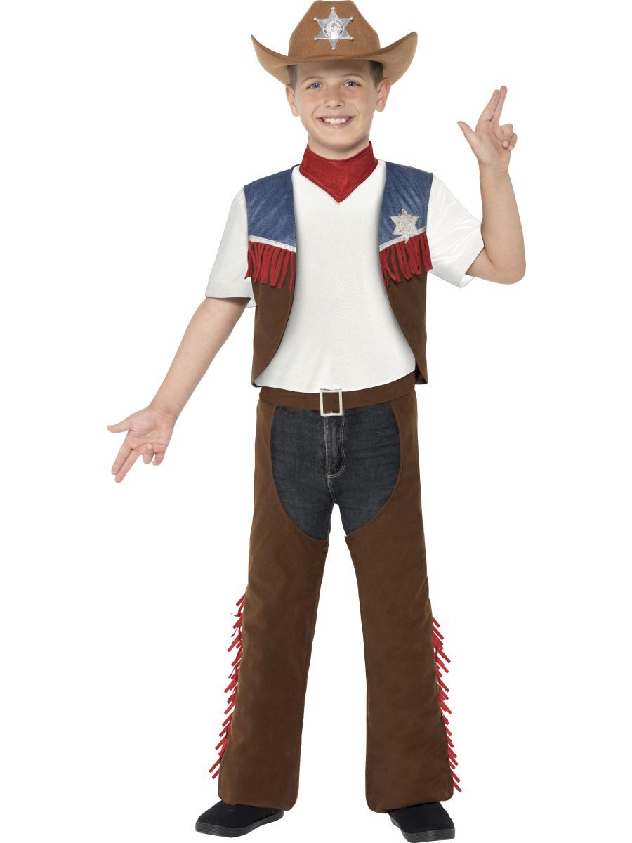 Dětský kostým kovboj Velikosti: M (7-9 let)