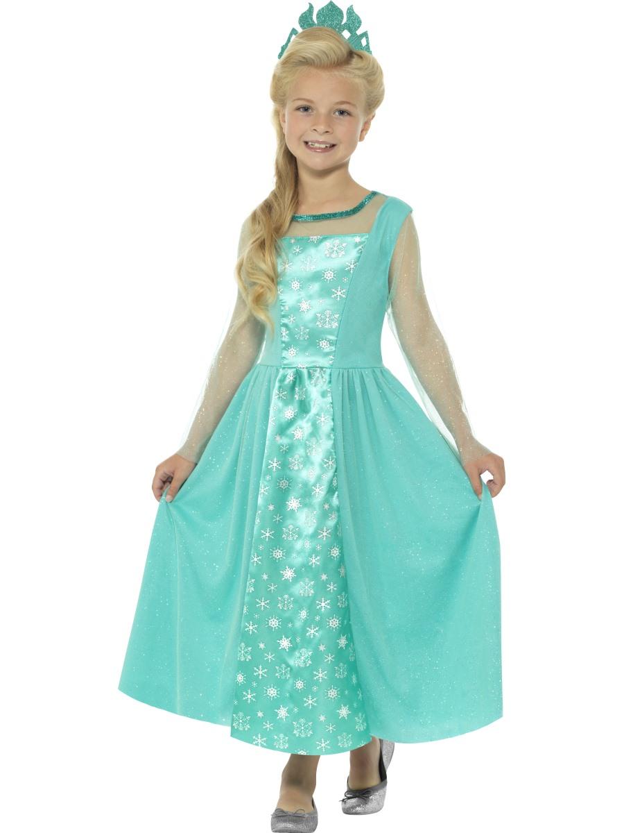 Šaty Elsa kostým Frozen Velikosti: M (7-9 let)