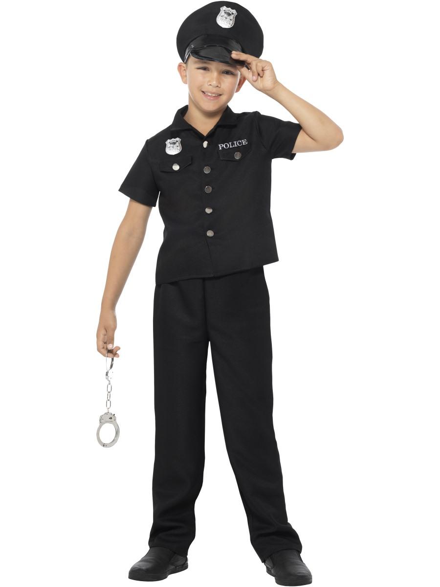 Policejní kostým pro děti Velikosti: M (7-9 let)