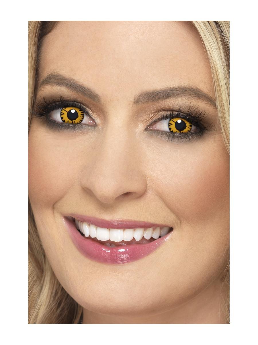 Barevné kontaktní čočky Vlk