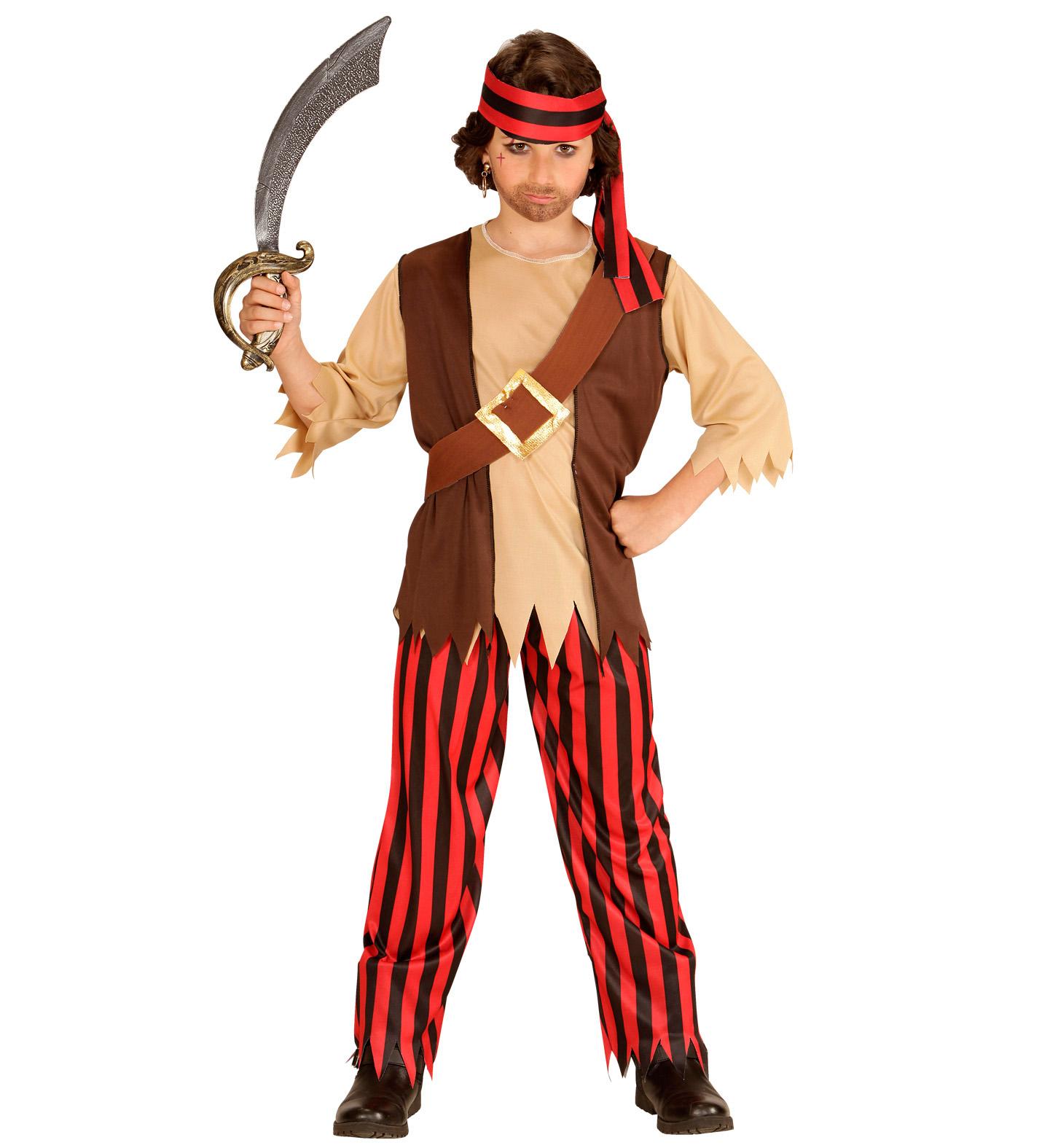 Dětský kostým piráta Velikosti  L (11-13 let) e3d187f6d13