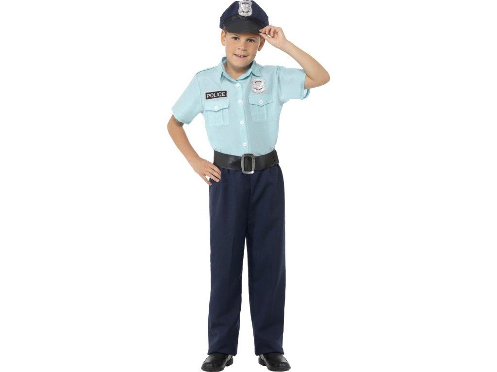 Dětský kostým policista Velikosti: M (7-9 let)