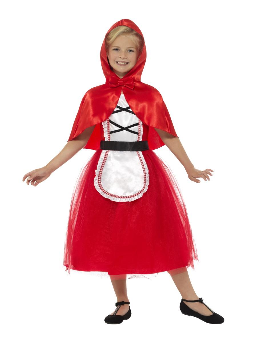 Dětský kostým Červená Karkulka kvalitní Velikosti: M (7-9 let)