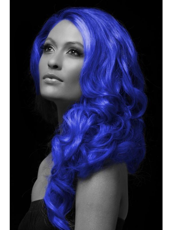 Barevný sprej na vlasy modrý
