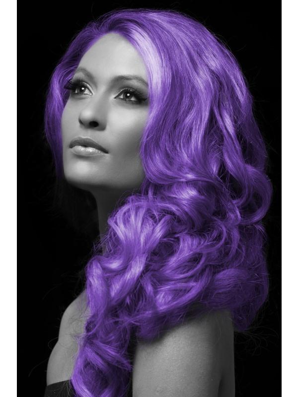Barevný sprej na vlasy fialový