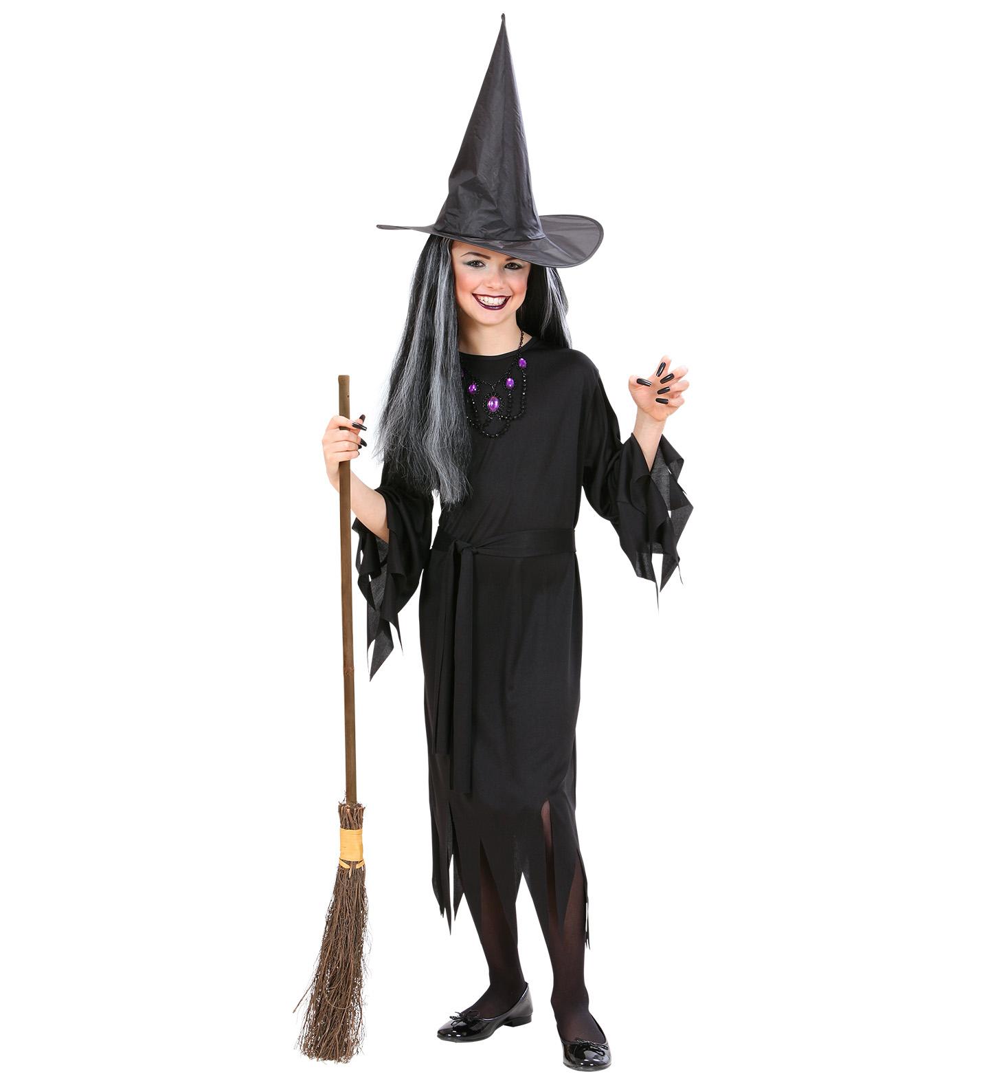 Čarodějnický kostým pro děti Velikosti: M (8-10 let)