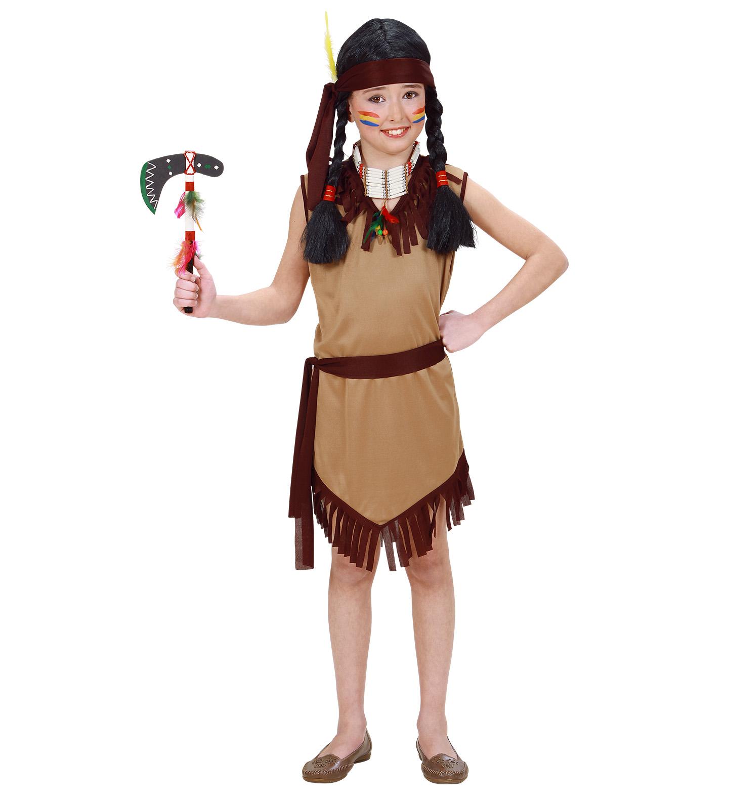 Indiánský kostým pro děti Velikosti: M (8-10 let)