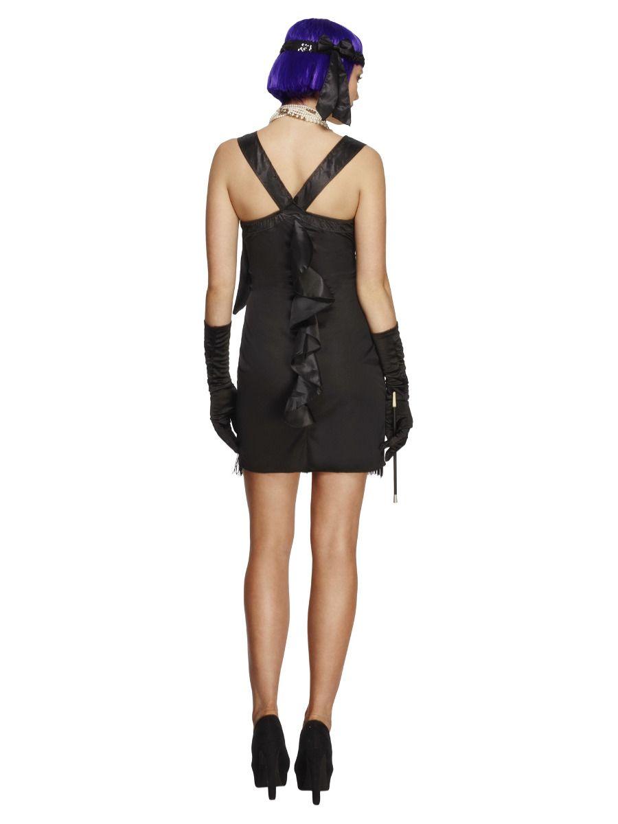 Charleston kostým šaty s mašlí Velikost: S (36-38)