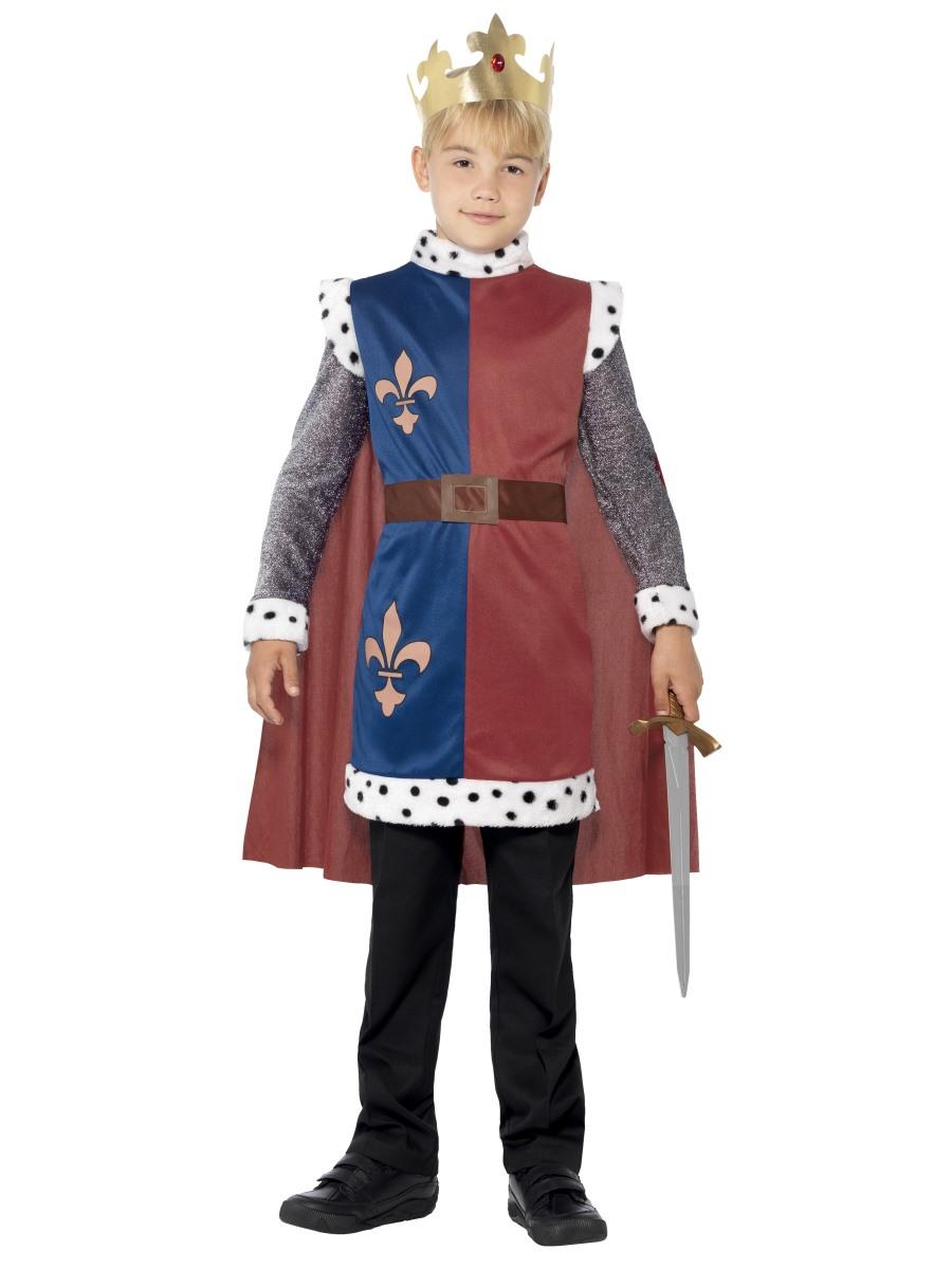 Dětský kostým král Artuš Velikosti: M (7-9 let)