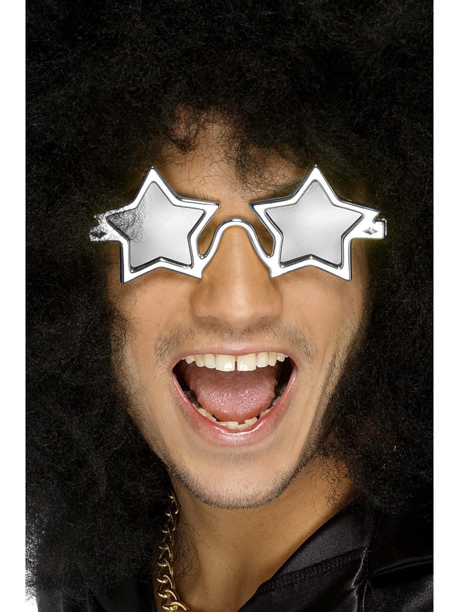 Vtipné párty brýle s hvězdami