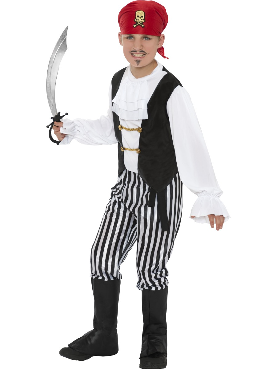 Dětský kostým pirát Velikosti: M (7-9 let)